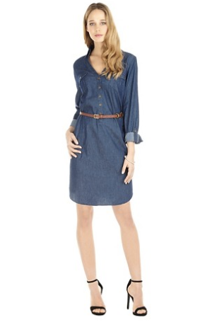 Pullover-Chambray-Dress