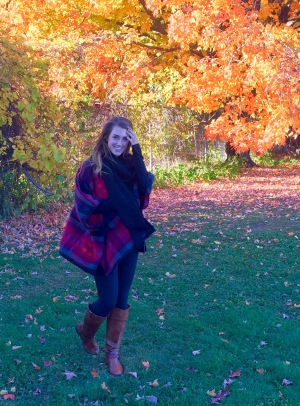 fall plaid sweater