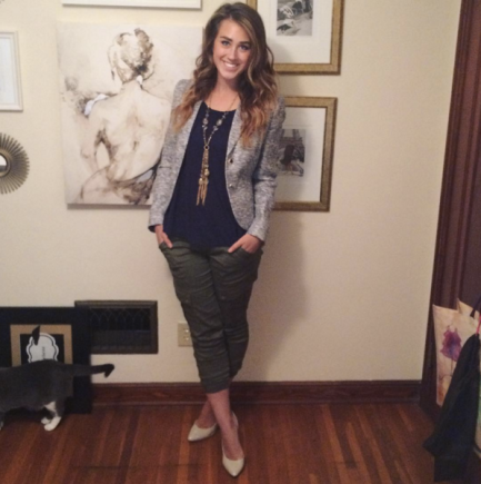 Thanksgiving Oufit_Blazer and Jogger Pants