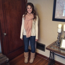 Thanksgiving Outfit_Jeans and Boots