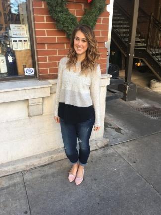 Lauren Conrad Flats and Cozy Sweater
